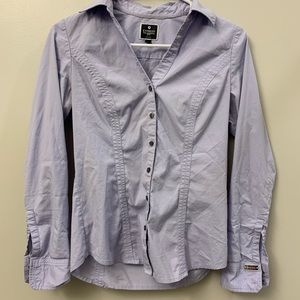 Express The Essential Shirt in Lavender
